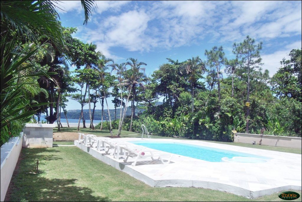 Beach Front Mansion Ubatuba