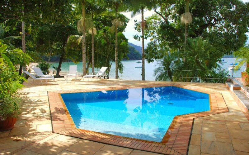 Spectacular Beach Villa Ubatuba with 1800 m² built area