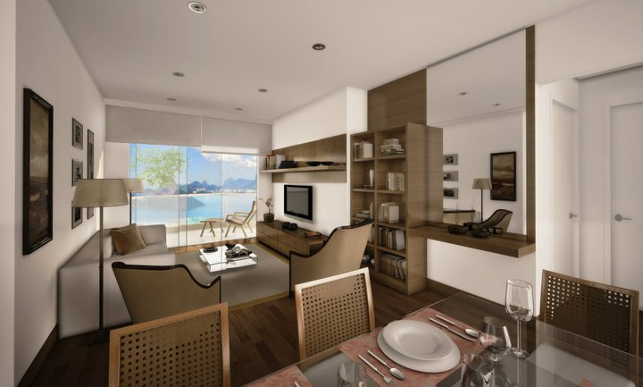 Modern and Luxurious Apartment with 85 m² in Icaraí, Niterói
