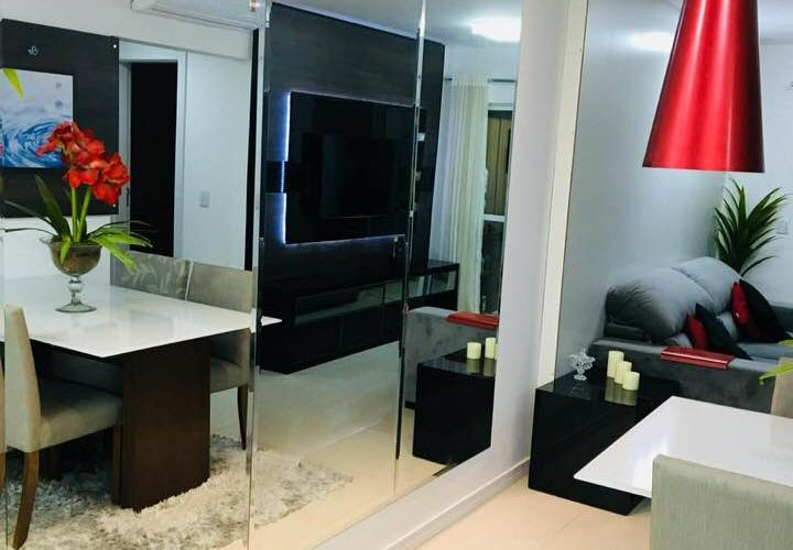 Modern Apartment with 78 sqm in Itajaí, upscale, building with complete infrastructure