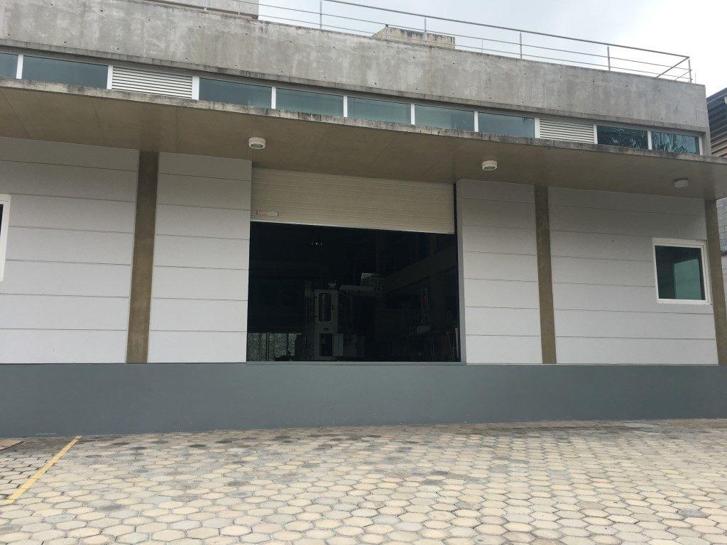 storage area of the office building