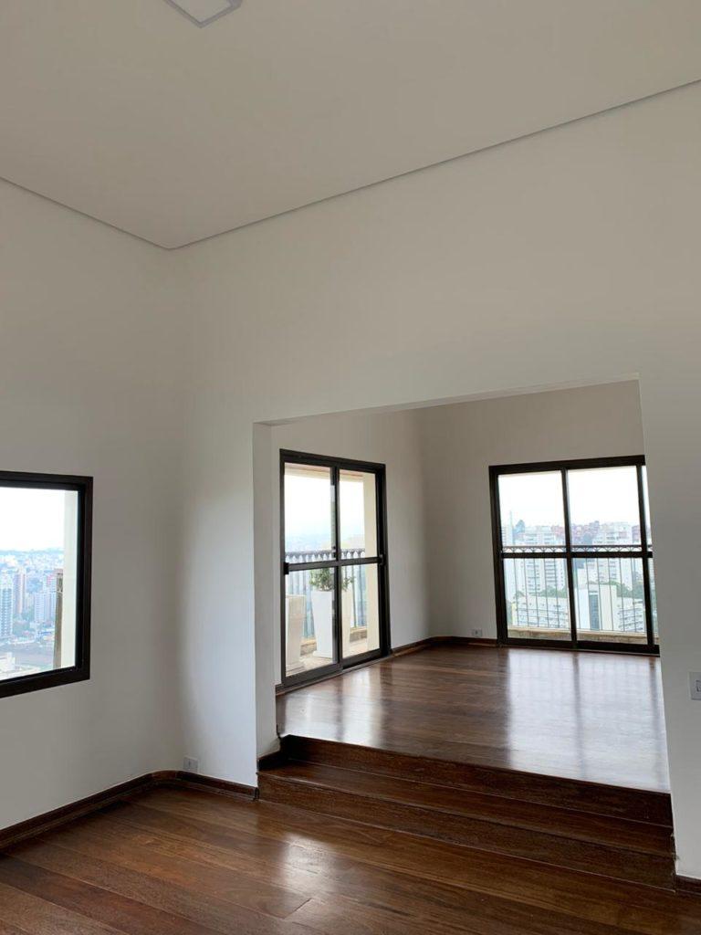 living and bedroom apartment Morumbi