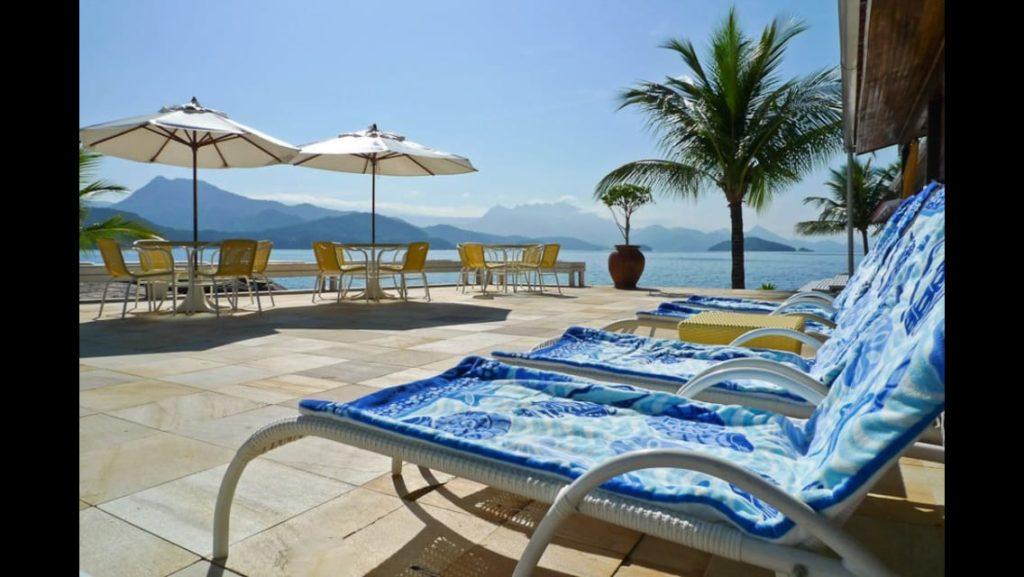 Ilha de Aracatiba terrace view